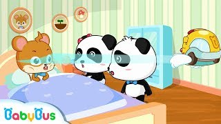 What's Wrong with Whiskers | I Love Drinking Water | Kids Good Habits | BabyBus Cartoon