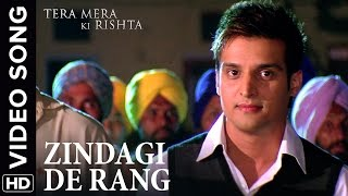 🎼 Zindagi De Rang Video Song | Tera Mera Ki Rishta Punjabi Movie 🎼