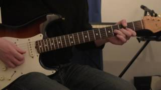 Pink Floyd - Time - Guitar Solo cover + Breathe Reprise