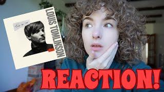 TWO OF US BY LOUIS TOMLINSON REACTION!