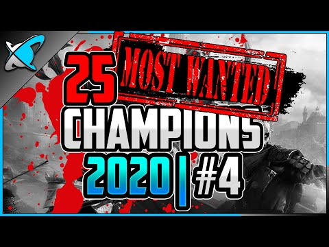 """25 """"MOST WANTED"""" CHAMPIONS 