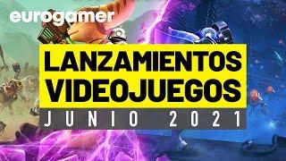 LOS VIDEOJUEGOS QUE SALEN EN JUNIO 2021