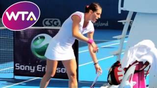 The Petko Dunk! | WTA at Brisbane International tennis tournament 2012