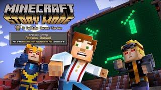 Minecraft: Story Mode Episode 7 - 'Access Denied' Trailer