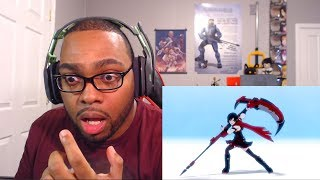 RWBY Volume 6 Intro Reaction - THE PAST! THE PAST!