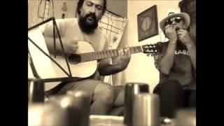 """Ensaio para uma versão Blues de """"Anel de Rubi""""(Rui Veloso) - com Júnior Tana e Ricardo Nunes"""