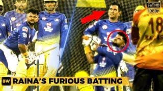 Raina's Massive Shots in Chennai - Thala Dhoni gets Impressed! | CSK | IPL 2019
