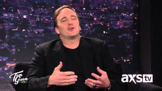 Jay Mohr Does a Great Christopher Walken - Tom Green Live