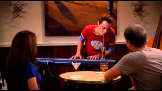 Agymenők S01 E08 Sheldon zenél