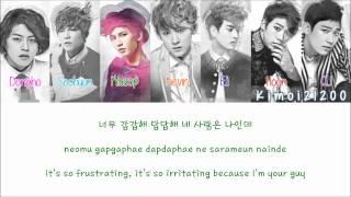 U-Kiss - Cinderella [Hangul/Romanization/English] Color & Picture Coded HD