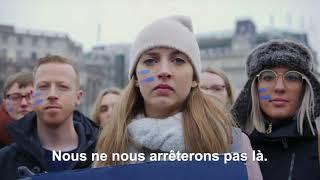 Les étudiants en campagne pour l'ONG Plan International