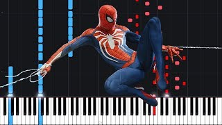 Main Theme - Marvel's Spider-Man (PS4) [Piano Tutorial] (Synthesia) // AqareCover