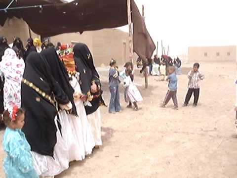 Berber's wedding party