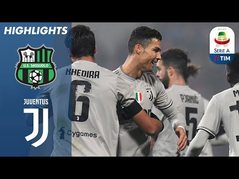 Download Video Sassuolo 0-3 Juventus | Ronaldo On Target As Champions Go 11 Points Clear | Serie A