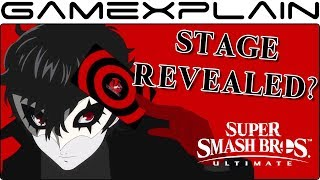 Joker's DLC Stage Potentially Revealed in Super Smash Bros. Ultimate Data Mine