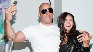 Nina Dobrev é surpreendida por Vin Diesel em evento [LEGENDADO PT-BR]