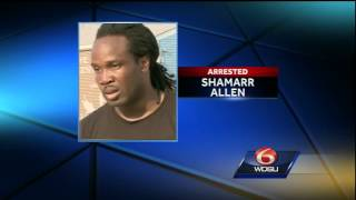 Shamarr Allen arrested by Orleans Parish deputies