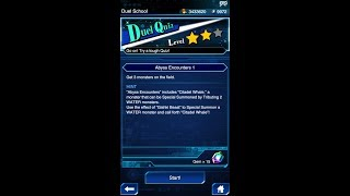 Yugioh Duel Links - New Duel Quiz Level 2 : Abyss Encounters 1