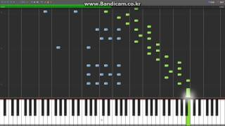 [Synthesia][MIDI] Secret - Chopin etude op.10 no.5 (흑건백건)