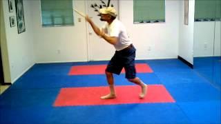 The Legend Mas Guru Greg Alland demonstrates Kali Silat at Dojo Martial Arts - Bradenton, FL