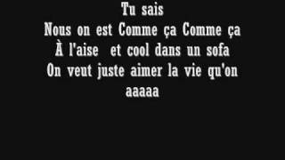 Pzk comme sa paroles