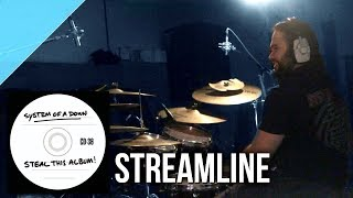 "System of a Down - ""Streamline"" drum cover by Allan Heppner"