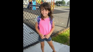 Mikayla's 1st Day - Back To School 4th Grade