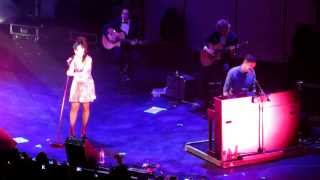 Somewhere Only We Know - Tim Rice-Oxley & Lily Allen Live at Under1Roof 2013