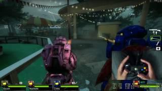 Left 4 Dead 2 Bunny Hopping With an Xbox Controller
