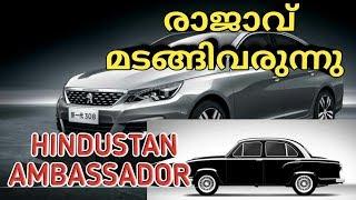രാജാവ് മടങ്ങിവരുന്നു  | HINDUSTAN AMBASSADOR | Peugeot AMBASSADOR | INDIA | CARS