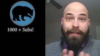 1000 Sub Update (Thanks, AMA, Movies Stunts & Effects)