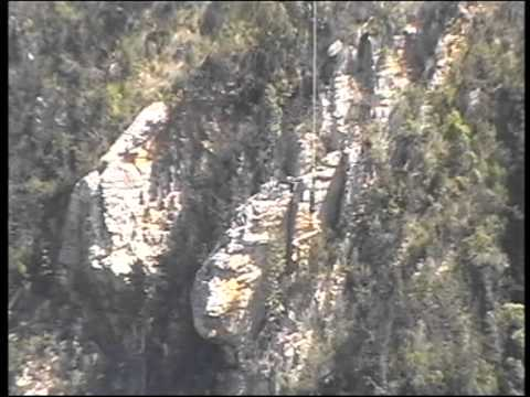 Bungy Jumping at Bloukrans Bridge (216 meters)