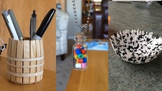 3 Ridiculously Simple D.I.Y Projects!