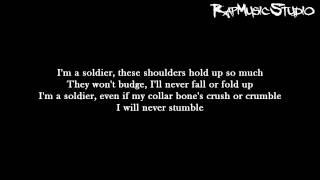 Eminem - Soldier | Lyrics on screen | Full HD