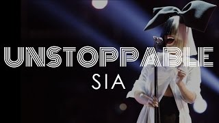 Unstoppable (Lyrics Video HD) - Sia (Official Audio)