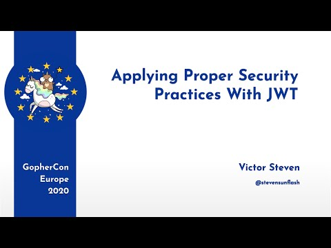 Applying Proper Security Practices With JWT