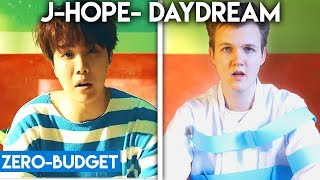 K-POP WITH ZERO BUDGET! (J-HOPE- Daydream, TWICE- TT, GOT7- Look, iKON- LOVE SCENARIO)