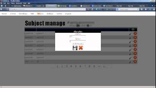 PHP+CRUD : live search + table header sort demo(using jquery)