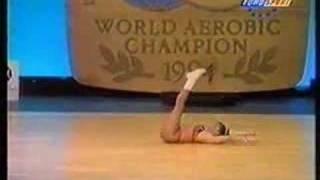 Aerobics Championship World 1994 Sue Stanley