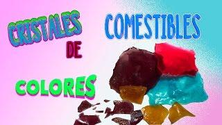 CRISTALES DE COLORES COMESTIBLES