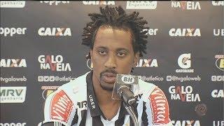 Arouca fala sobre a expectativa em jogar pelo Atlético