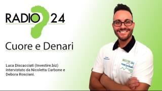 Intervista a Luca Discacciati per Radio24
