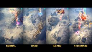 Sky Force Reloaded - Stage 01 - all difficulties