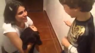 Chegada do cachorrinho Mathias - Melhor vídeo do ano!