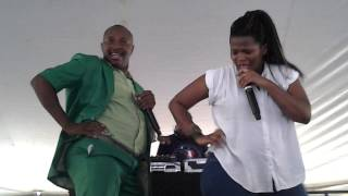 Dr Malinga vs Busiswa @ Orange Farm imbizo 2013/10/11