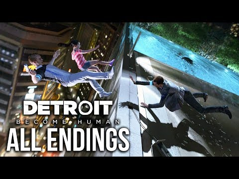 ALL ENDINGS - Detroit: Become Human - Hostage Situation Mission
