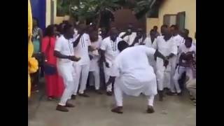 a man who battled flow king stone at a wedding