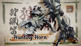Hunting Horn and Charge Blade show their Monster Hunter Rise moves