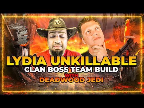 LIVE Unkillable Lydia Build! ft DeadwoodJedi | RAID Shadow Legends