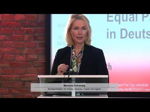 Bundesministerin Manuela Schwesig | Rede zum Gesetz für Lohngerechtigkeit am 18.10.2016, Berlin